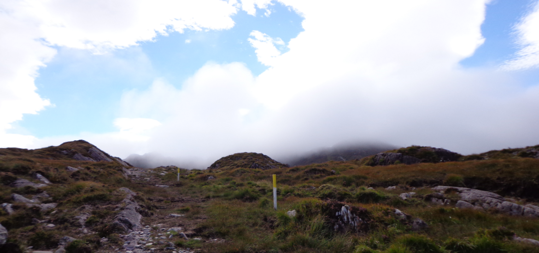 Wandern auf dem Beara way; Irland