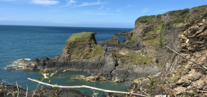 Aussicht Pembrokeshire Coast Path