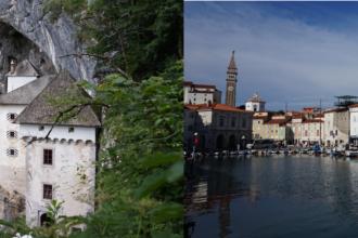 Predjama und Piran, Slowenien