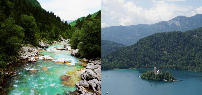 Sloweniens Nordwesten