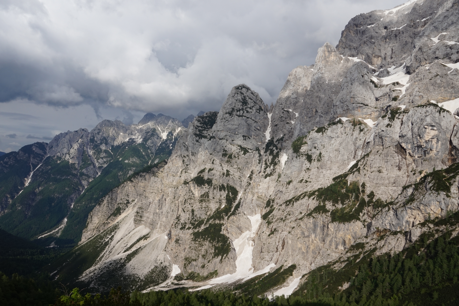 Julische Alpen im Triglav Nationalark