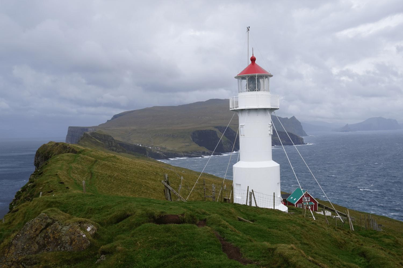 Leuchtturm auf Mykínes Holmur