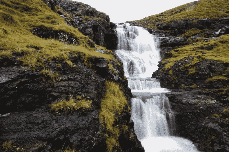 Wasserfall auf Bordoy