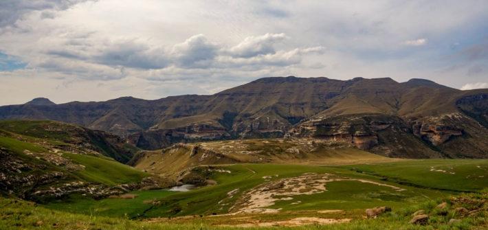 Ausläufer der Maloti Mountains