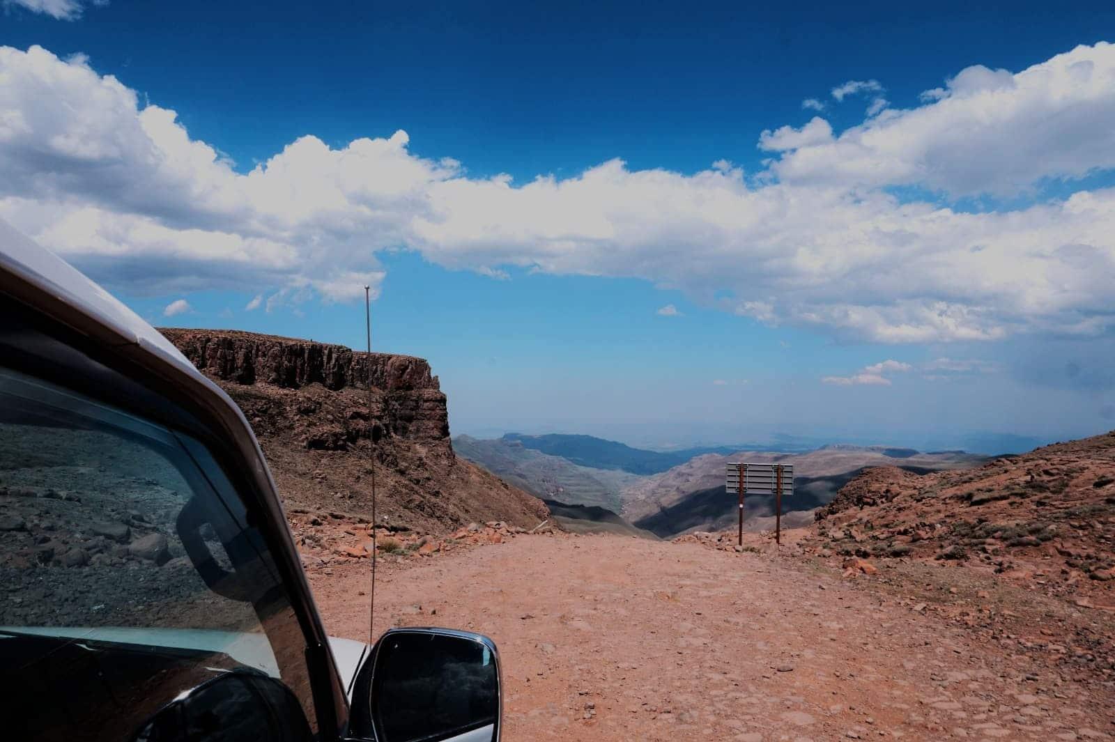 Rückfahrt Sani Pass