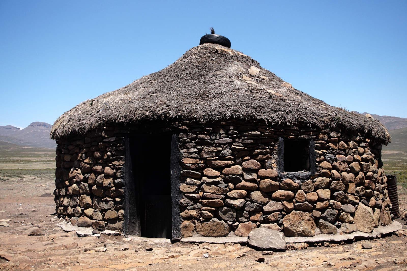 Basotho-Hütte