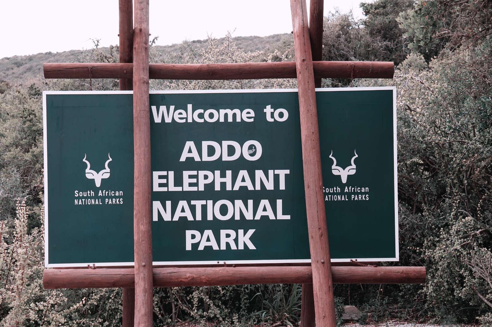Eingang Addo Elephant National Park