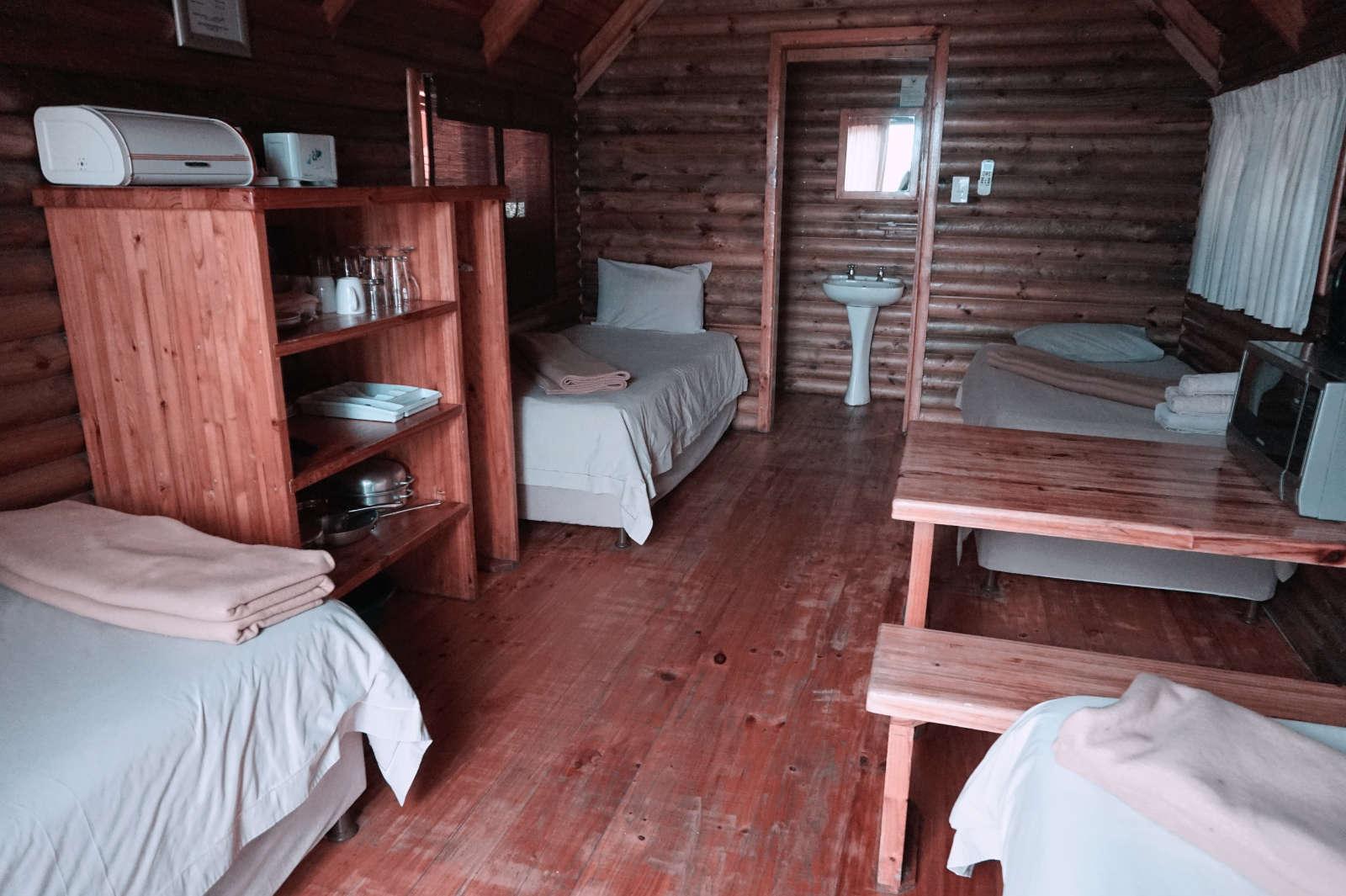 Forst Cabin von innen