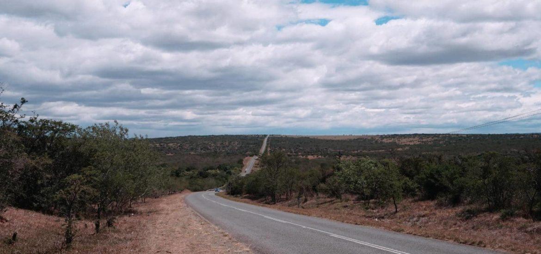 Landstrasse in Südafrika
