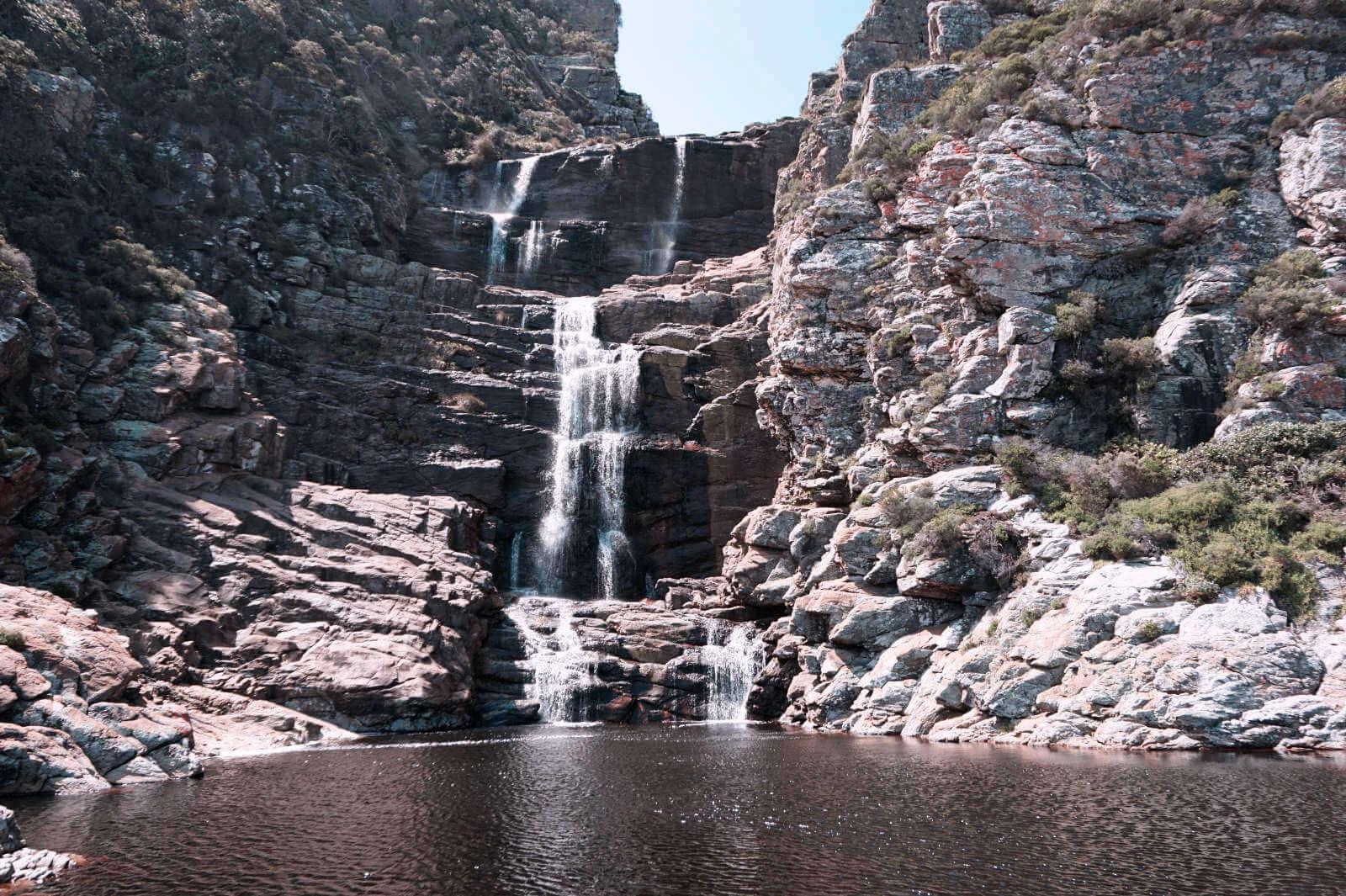 Zeil des Waterfall Trails: Der wunderschöne Wasserfall