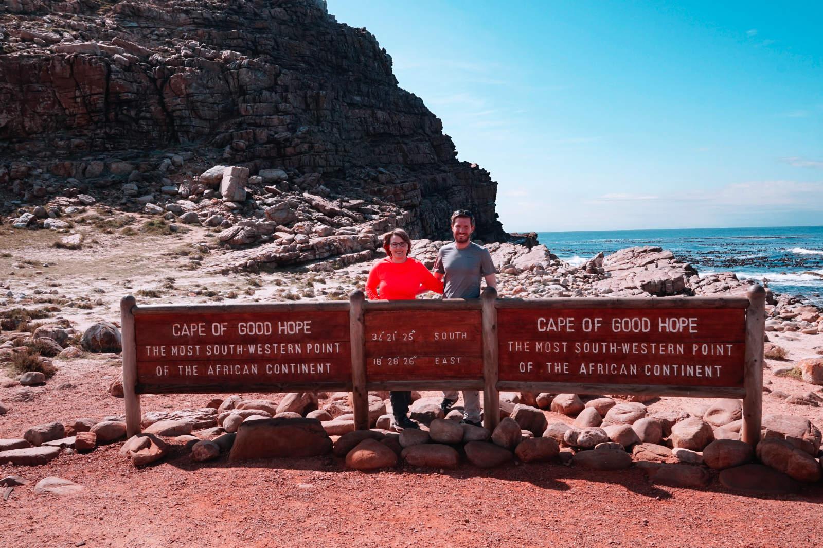 Fotopunkt am Kap der Guten Hoffnung