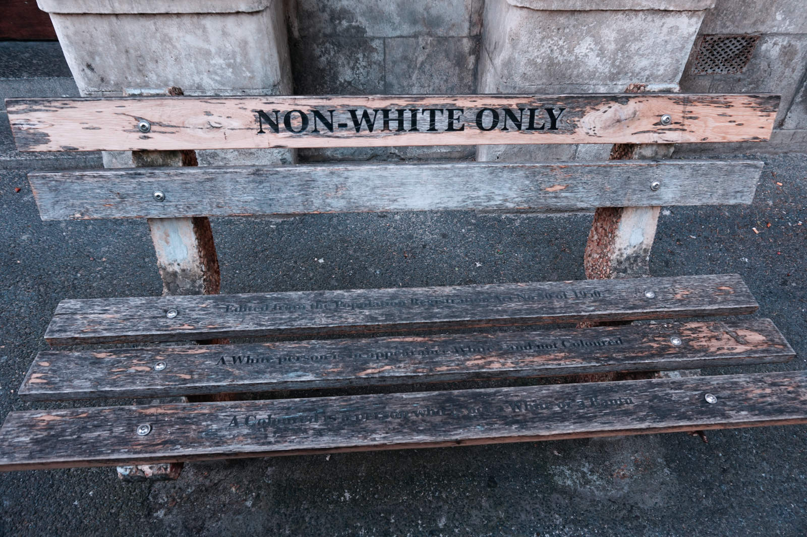 Mahnmal der Apartheid