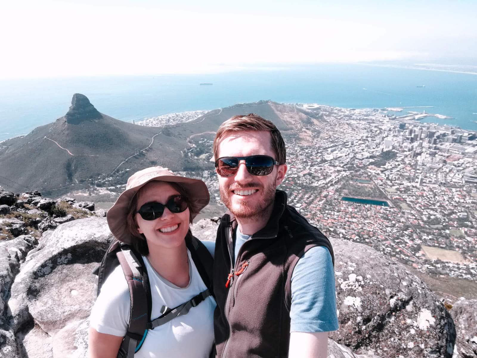 Oben auf dem Tafelberg