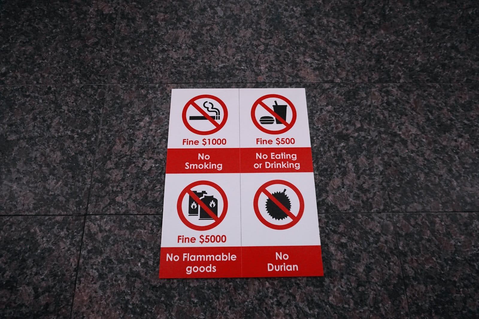 Singapur ist bekannt für seine strengen Gesetze