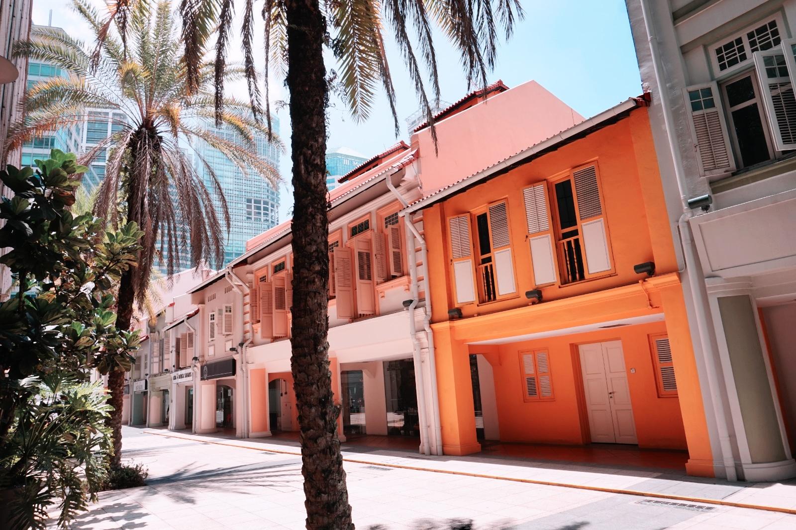 koloniale Bauwerke, Singapur