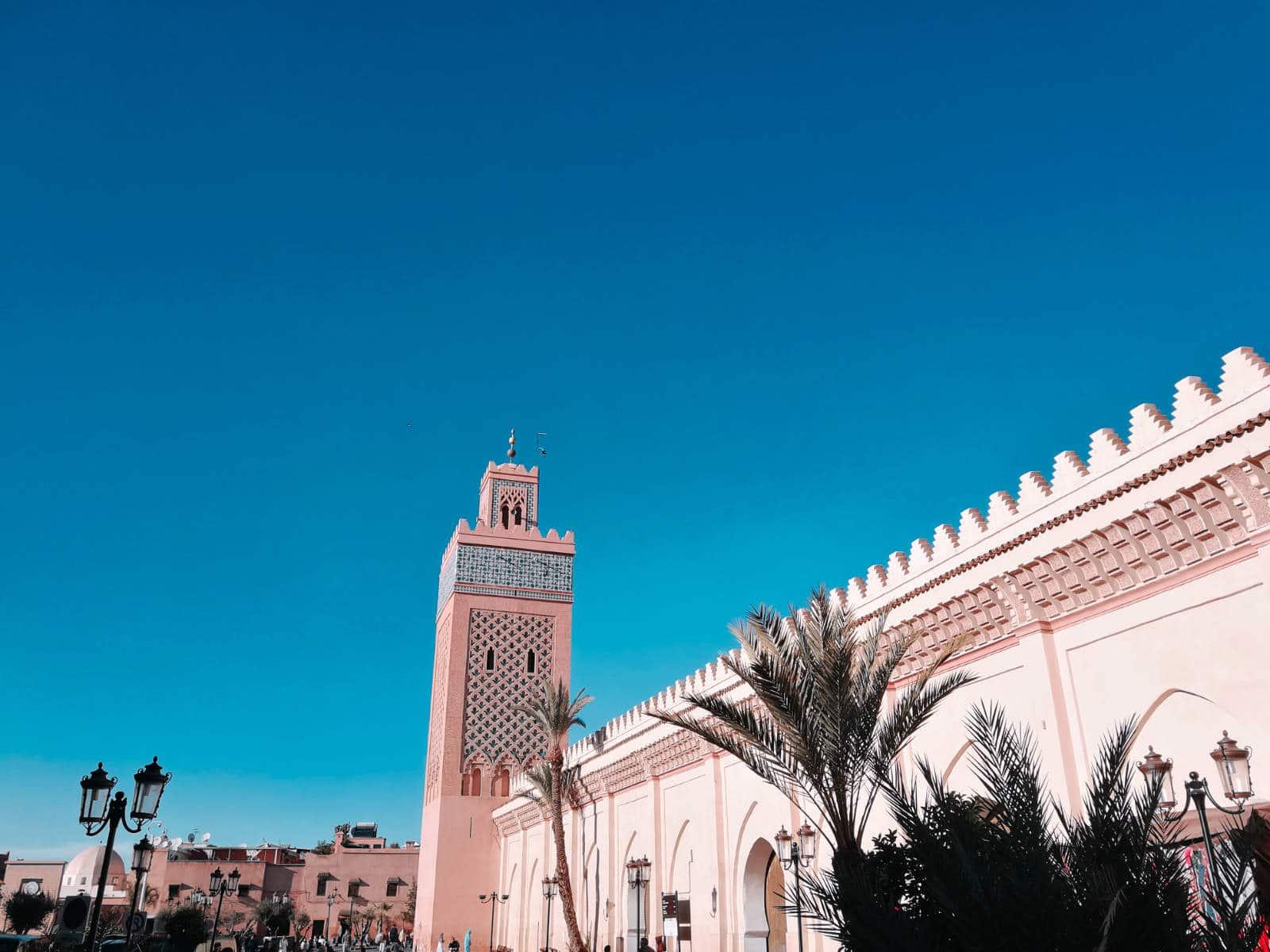 Koutoubia Moschee