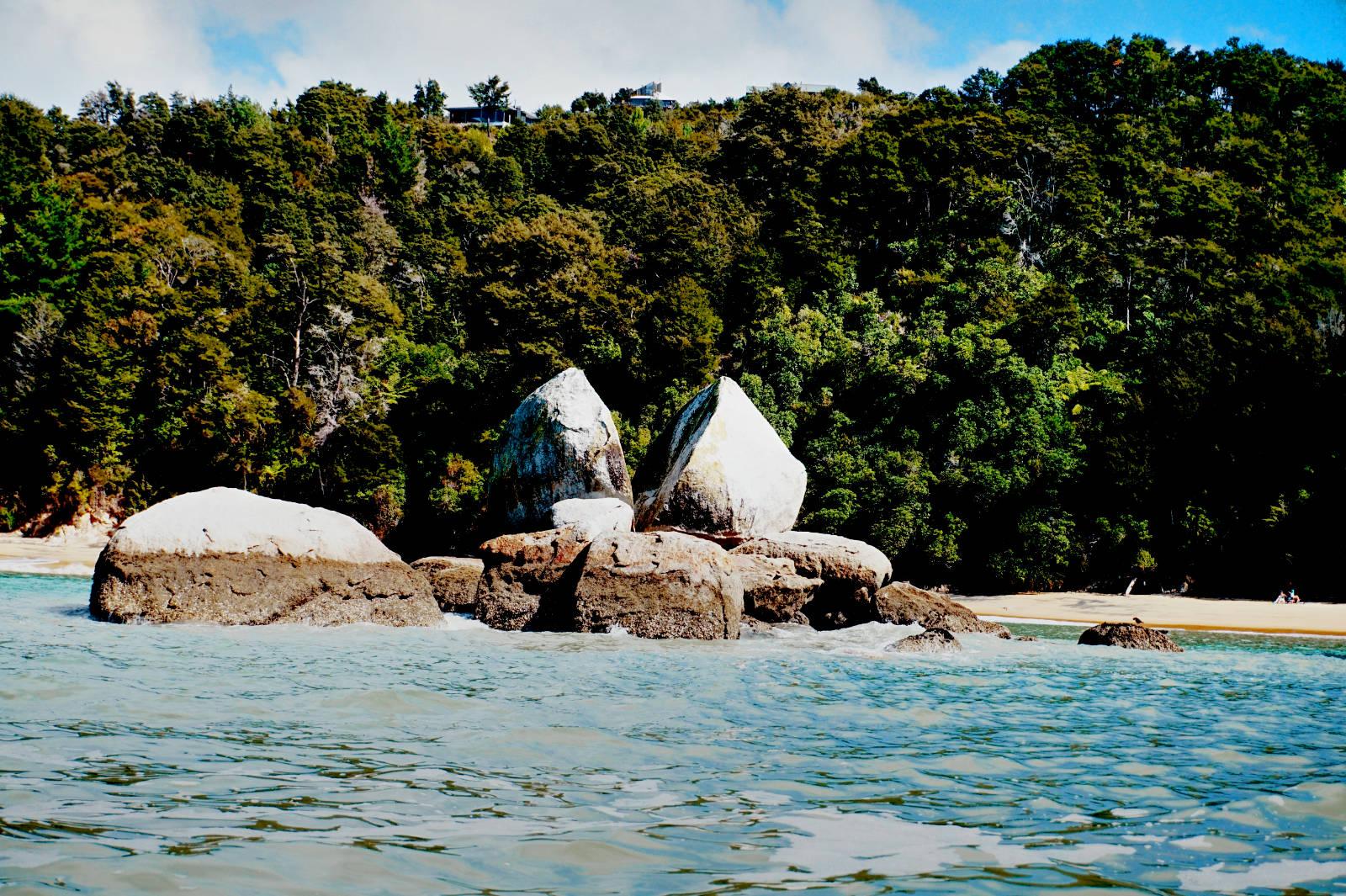 Split Apple Rock, Abel Tasman Nationalpark