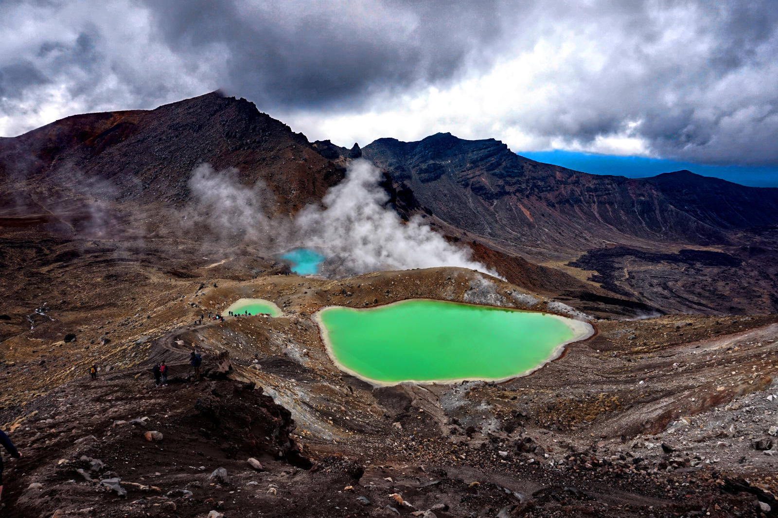 Aussicht am Tongariro Alpine Crossing