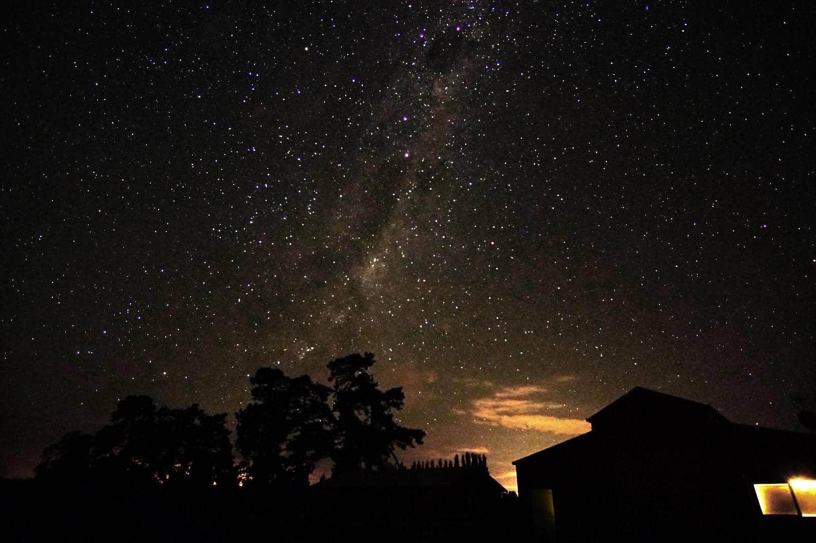 Milchstraße in Neuseeland