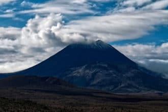 Ausblick auf Mount Ngauruhoe