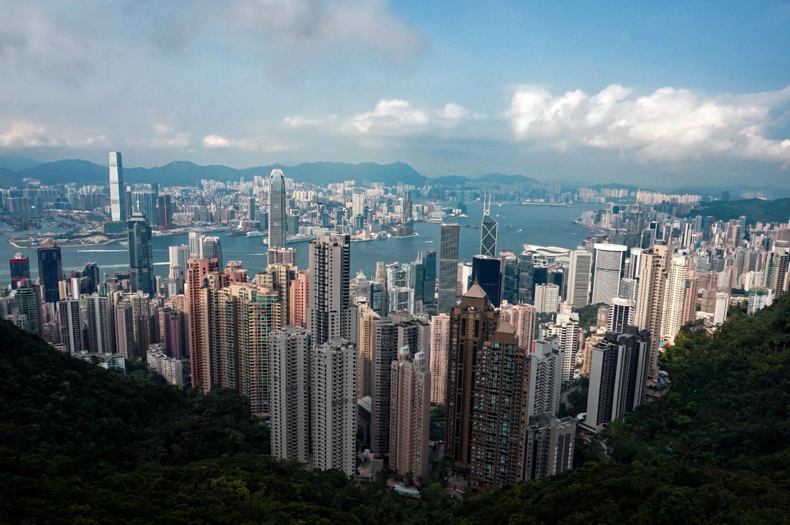 The Peak in Hongkong