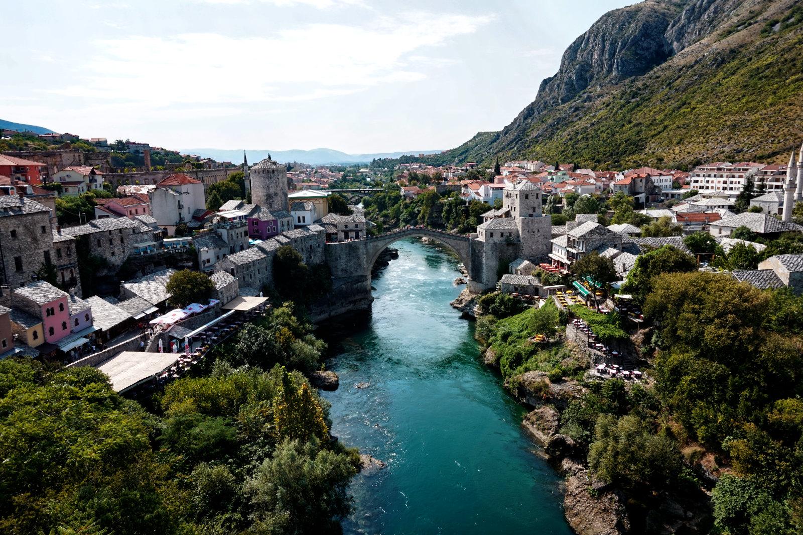 Blick auf Mostar