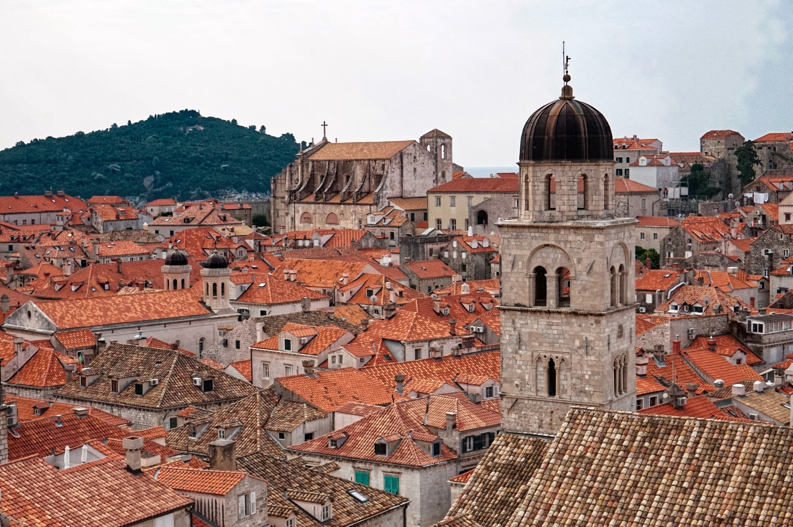 Ausblick Stadtmauer, Dubrovnik