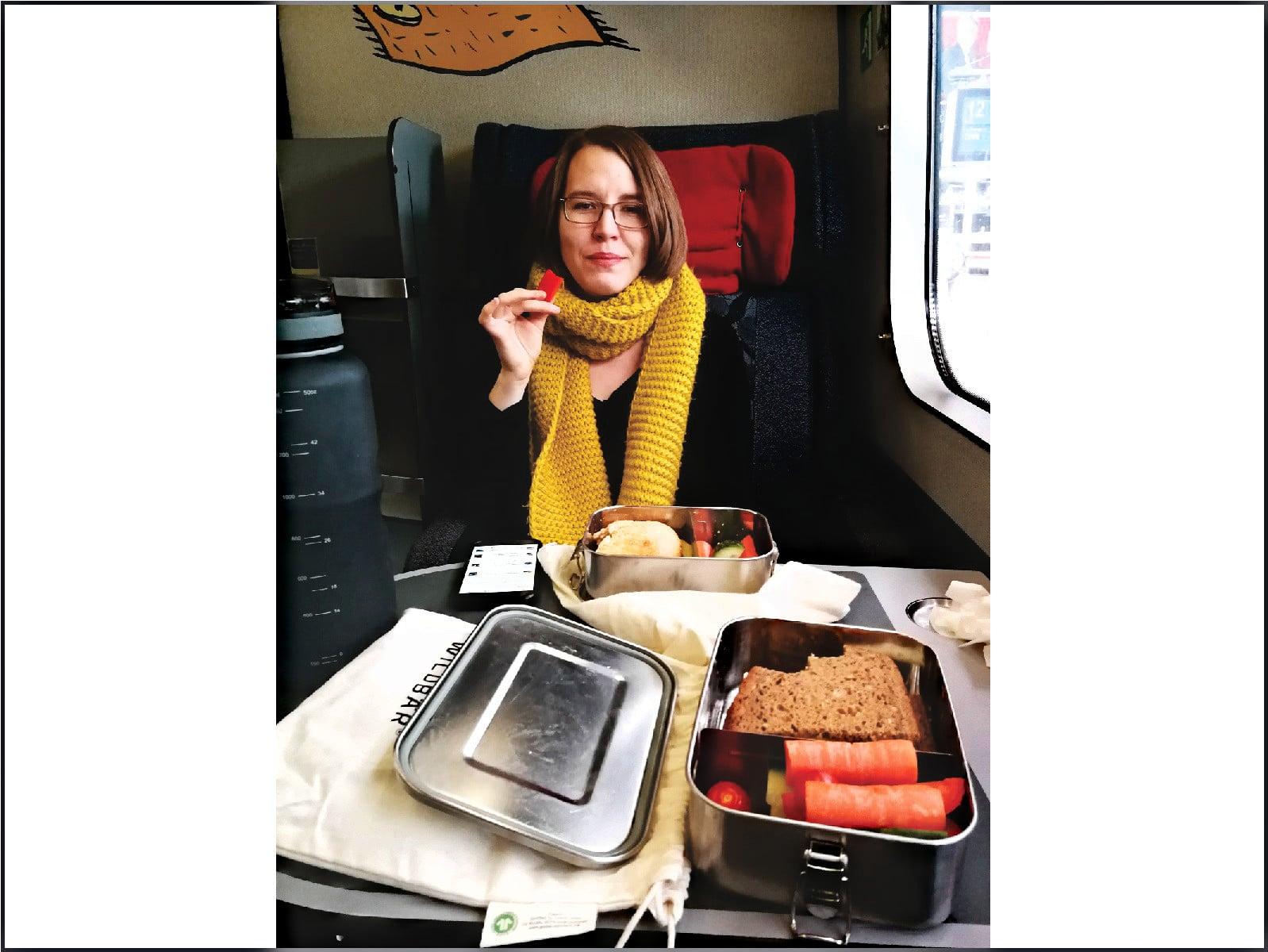 Entspannt im Zug