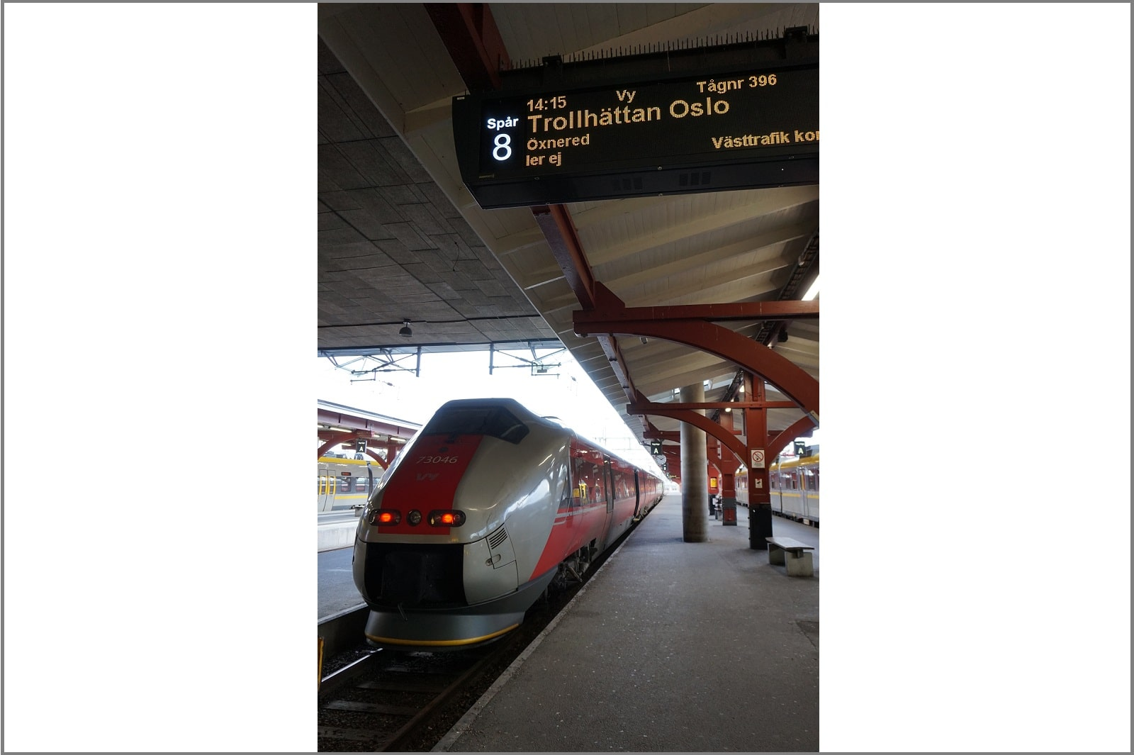 Zug in Norwegen