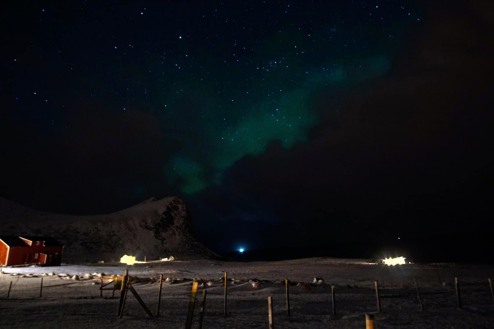 Lofoten Polarlicht